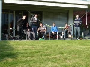 The Gang Taking A Break